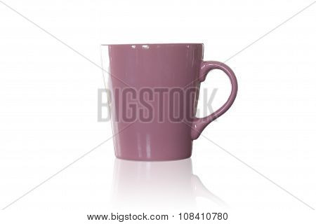 Coffee Mug Isolated On White Background