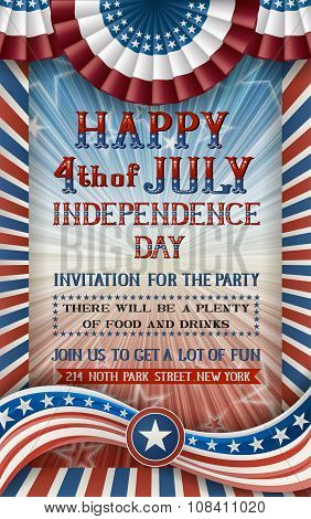 Invitation For Independence Day