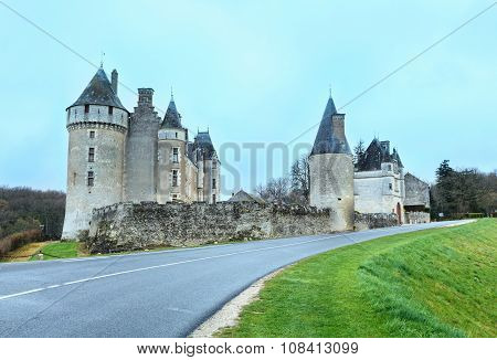 The Chateau De Montpoupon, France.