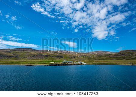Bardastrond Fjord, Westfjords, Iceland