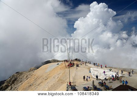 Tahtali mountain, Turkey, June 7, 2015. View from the Tahtali mountain