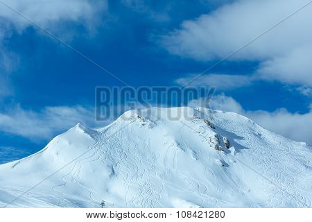 Winter Mountain Top View (austria)