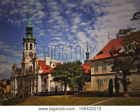 The Prague Pilgrim Place Loreta, Czech Republic