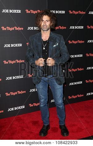 NEW YORK-NOV 16: Artist Todd DiCiurcio attends the New York Red Carpet screening of Columbia Pictures'