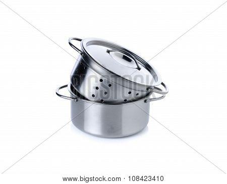 Kitchenwares For Children Imagination On White Background