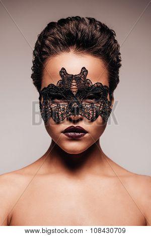 Beauty In Mask.