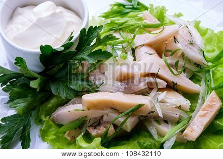 Cooked Squid