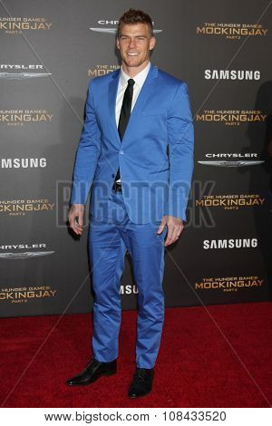 LOS ANGELES - NOV 16:  Alan Ritchson at the