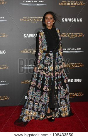 LOS ANGELES - NOV 16:  Meta Golding at the