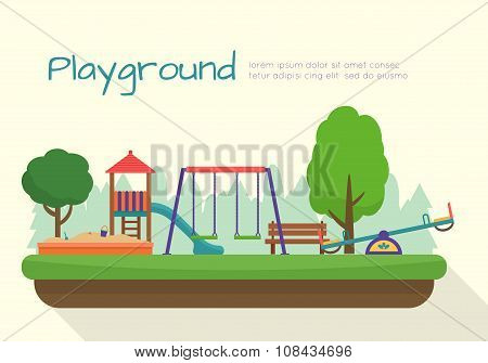 Kids playground set.