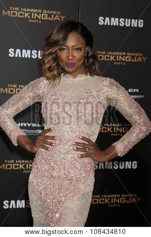LOS ANGELES - NOV 16:  Patina Miller at the