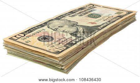 Stack Of Dollars Banknotes_10