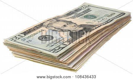 Stack Of Dollars Banknotes_20