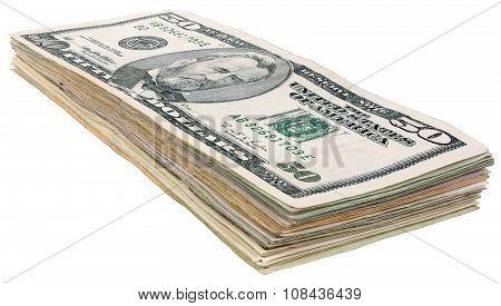 Stack Of Dollars Banknotes_50