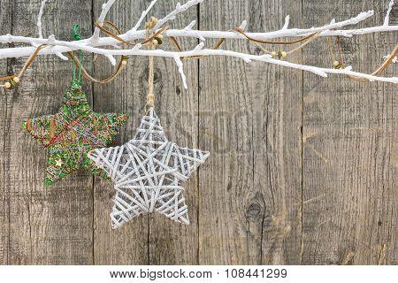 Christmas Decoration With Decorative Stars