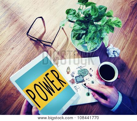 Power Potential Competence Competency Energy Concept