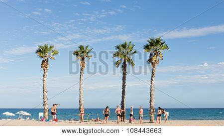 Beach Holiday In Alicante, Spain