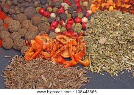 Different Spices And Herbs