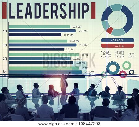 Leadership Leader Coaching Director Manage Concept