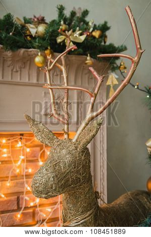 Hand made Cristmas deer