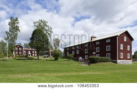 HALSINGLAND, SWEDEN ON JULY 24.