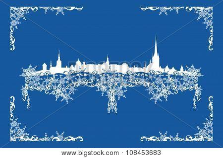 Winter Tallinn Decor