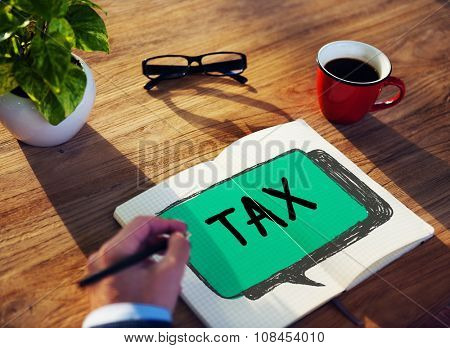 Tax Taxation Audit Refund Accounting Concept