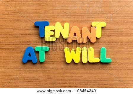 Tenant At Will
