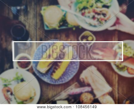 Food Brunch Dining Summer Concept
