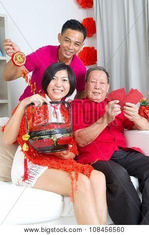 Asian Family