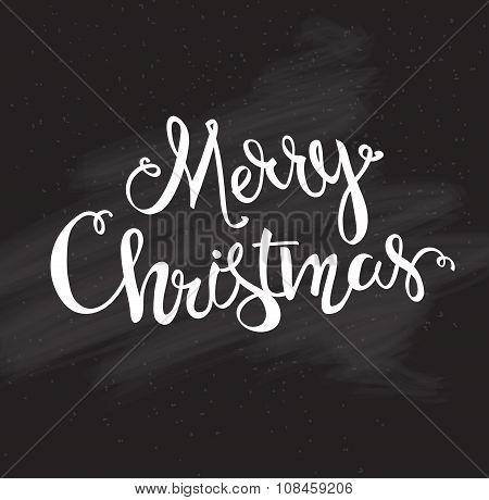 Merry Christmas Hand Drawn Font