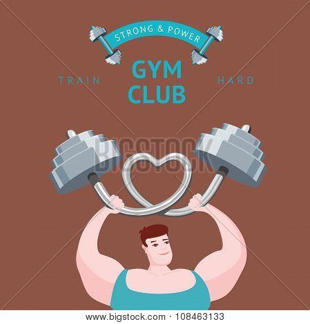 Gym club poster