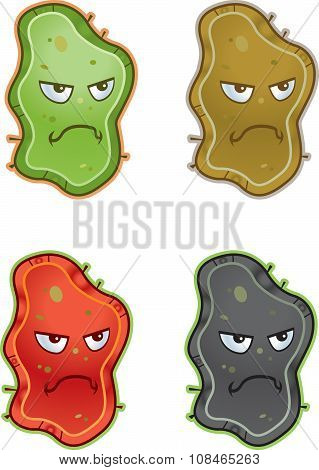 Cartoon Germs