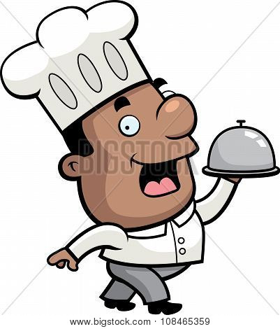 Chef Serving