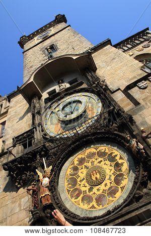 Prague Tower Clock