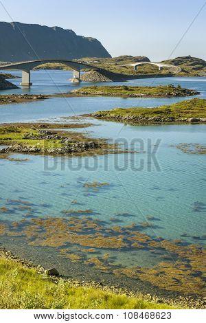 Bridges In Lofoten Islands, Norway