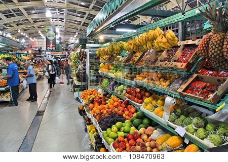 Fruit Market In Brazil