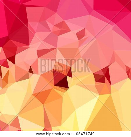 Rose Bonbon Pink Abstract Low Polygon Background