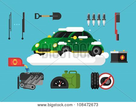 Preparing car to winter