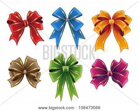 Gift Ribbon Bows