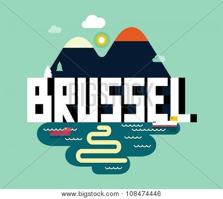 Brussel city in belgium, is a beautiful destination to visit for tourism.