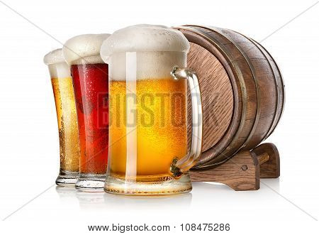 Beer and cask