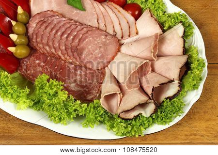Ham And Sausage