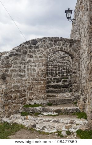Medieval Fortified Building In Travnik 04