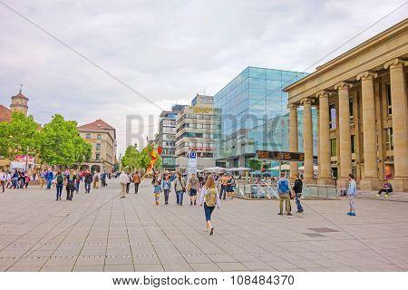 Shopping Promenade Konigstrasse, Stuttgart