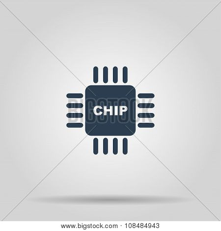 Vector Chip Icon