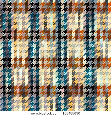 Hound-tooths plaid background