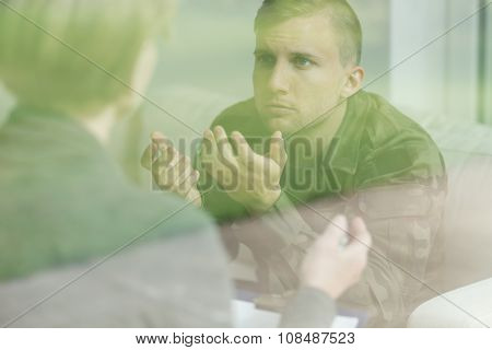 War Veteran After Mental Breakdown
