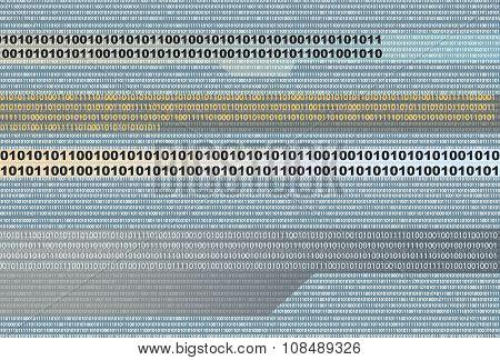 Binary Background.