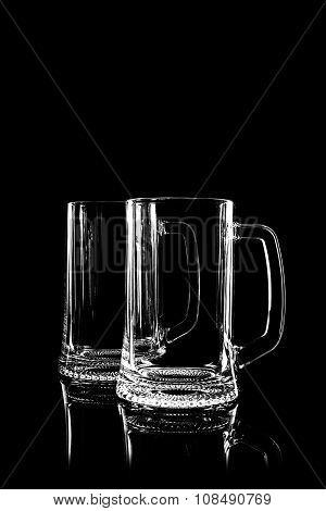 Transparent Glass For Beer